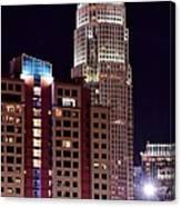 Charlotte Skyscraper Canvas Print
