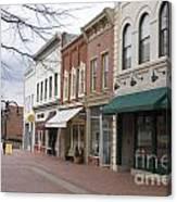 Charlottesville Virginia Downtown Mall Canvas Print