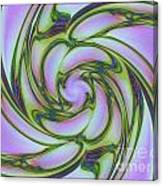 Charlotte's Crazy Spring Web Canvas Print