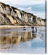 Charmouth Beach Canvas Print