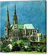 Chartres Cathedral Canvas Print