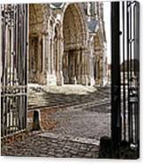 Chartres Cathedral North Transept Canvas Print