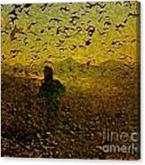 Chasing Birds In The Mist Canvas Print
