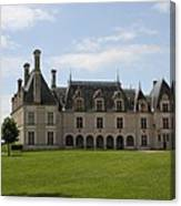Chateau Beauregard Loire Valley Canvas Print
