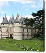 Chateau Chaumont From The Garden  Canvas Print