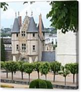 Chateau D'angers - Chatelet View Canvas Print