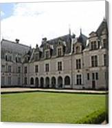 Chateau De Beauregard Loire Valley Canvas Print