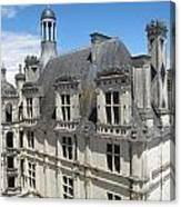Chateau De Chambord Canvas Print
