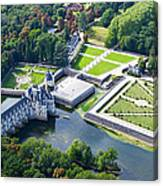 Chateau De Chenonceau And Its Gardens Canvas Print