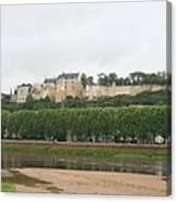 Chateau De Chinon - France Canvas Print