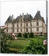 Chateau De Cormatin Garden Canvas Print