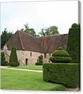 Chateau De Cormatin Stable Canvas Print