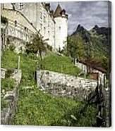 Chateau De Gruyeres Canvas Print