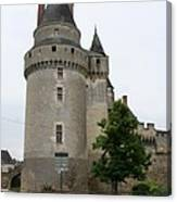Chateau De Langeais Tower Canvas Print