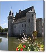 Chateau De Sully-sur-loire And Moat Canvas Print