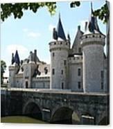 Chateau De Sully-sur-loire Canvas Print