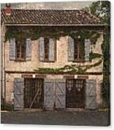 Chateau No 1 Rue Moulins France Canvas Print