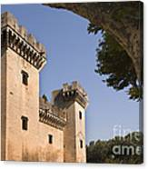 Chateau Of King Rene, France Canvas Print