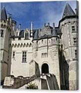 Chateau Saumur  Canvas Print