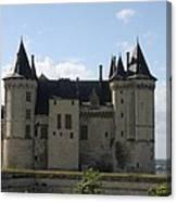Chateau Saumur - France Canvas Print