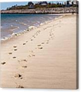 Chatham Beach Stroll Canvas Print