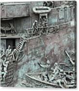Chatham Dockyard Memorial Canvas Print