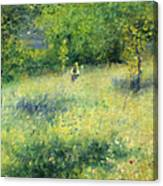 Chatou After Renoir Canvas Print