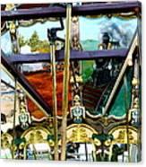 Chattanooga Carousel Canvas Print