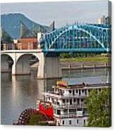 Chattanooga Riverfront Canvas Print