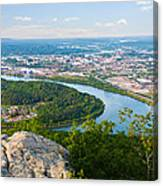 Chattanooga Spring Skyline Canvas Print