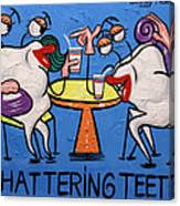 Chattering Teeth Dental Art By Anthony Falbo Canvas Print