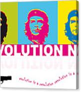 Che Guevara - Revolution Now Canvas Print