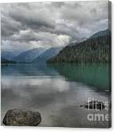 Cheakamus Lake Reflections Canvas Print