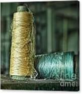 Cheap Threads Canvas Print