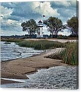 Cheboygan Crib Lighthouse #18 Canvas Print