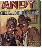 Check And Double Check  Canvas Print