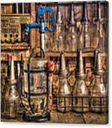 Check Your Oil Canvas Print