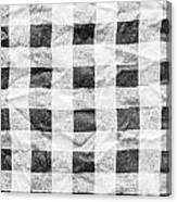 Checked Cloth Canvas Print