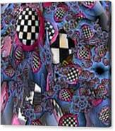 Checker Canvas Print