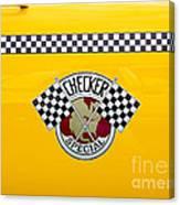 Checker Special Canvas Print