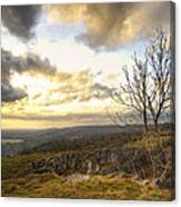 Cheddar Gorge Canvas Print