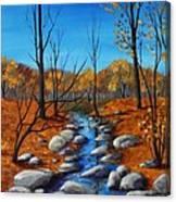Cheerful Fall Canvas Print