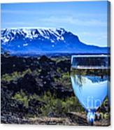 Cheers To Iceland Canvas Print