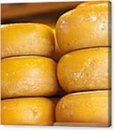 Cheese Wheels Canvas Print