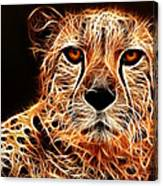 Cheetah Artwork Canvas Print