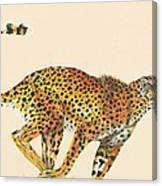 Cheetah Painting Canvas Print