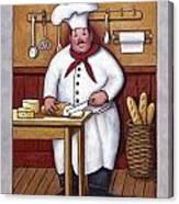 Chef 3 Canvas Print