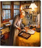 Chef - Kitchen - Coming Home For The Holidays Canvas Print