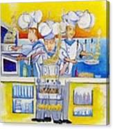 Chef's Kitchen Canvas Print