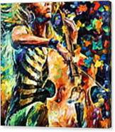 Chelo Player Canvas Print